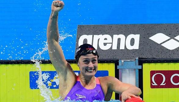 Belmonte logra la plata en los 400 estilos de los Mundiales de natación