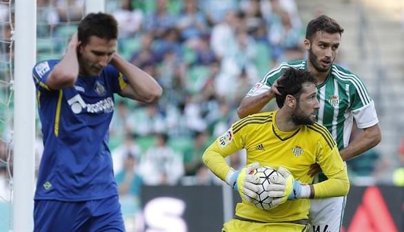 El Getafe no cumple en el Villamarín y desciende tras doce temporadas |2-1