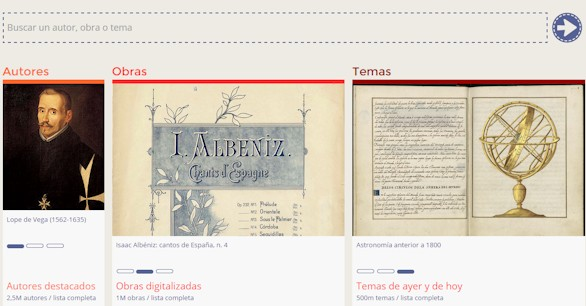 La Biblioteca Nacional estrena catálogo online