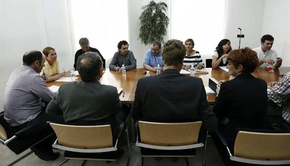 Bildu y Podemos se alían en la coalición de izquierdas en Pamplona