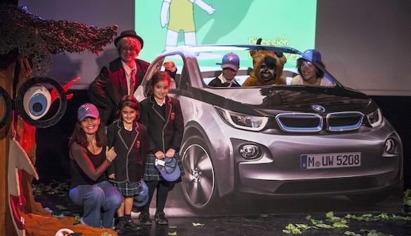 La compañía de Blanca Marsillach conciencia a los colegios sobre la movilidad sostenible