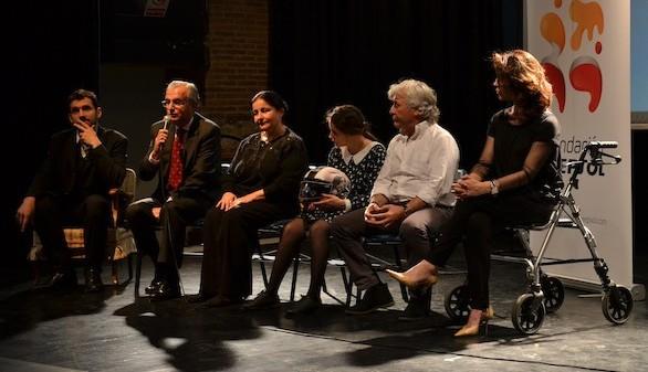 Fundación Repsol, Blanca Marsillach y Ángel Nieto presentan una obra de teatro para público con discapacidad