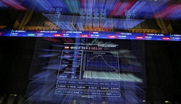 El Ibex 35 rebota un 4% hasta los 8.200 puntos