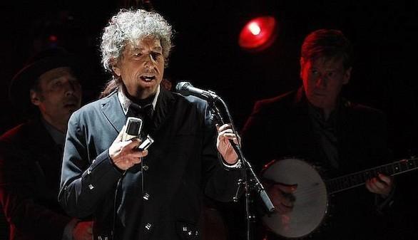 El cantante Bob Dylan, premio Nobel de Literatura 2016