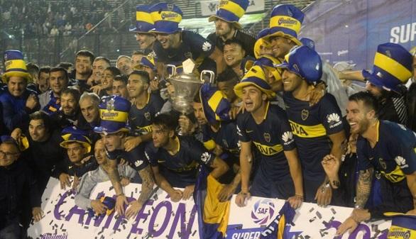 Boca Juniors se proclama campeón de la Liga argentina a pesar de Carlos Tévez