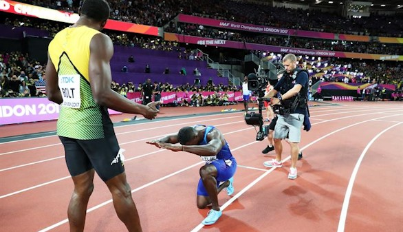 La primera gran derrota despide a Bolt de sus 100 metros