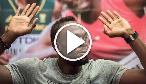 Usain Bolt quiere pasarse al fútbol y ya ha elegido equipo para intentarlo
