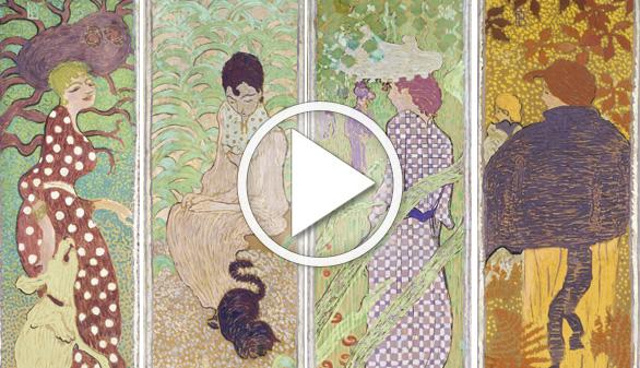 Pierre Bonnard: pintura para gustar salpicada de una explosión de color