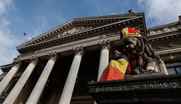Trece registros se saldan con nueve detenidos en Bélgica
