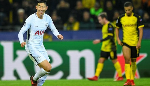 El Tottenham remonta al Dortmund y asegura la primera plaza |1-2
