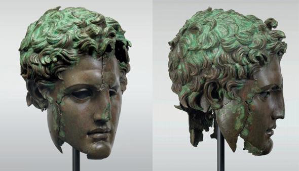 El Prado restaura una enigmática cabeza monumental helenística