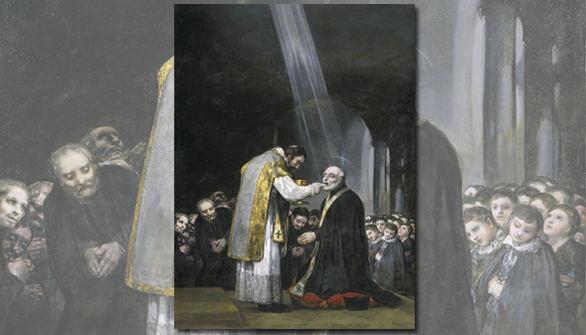 La última pintura religiosa de Goya vuelve al Museo del Prado