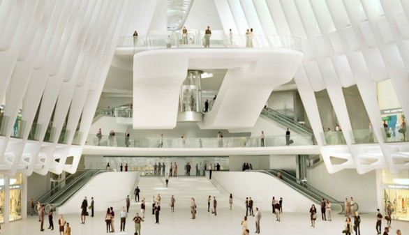 Se inaugura la estación millonaria de Calatrava en el World Trade Center