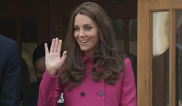 Último acto de la duquesa de Cambridge antes de dar a luz a su segundo hijo