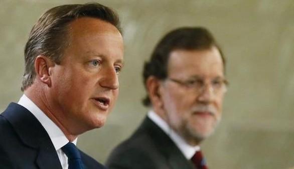 Cameron visita hoy Gibraltar y el Gobierno protesta