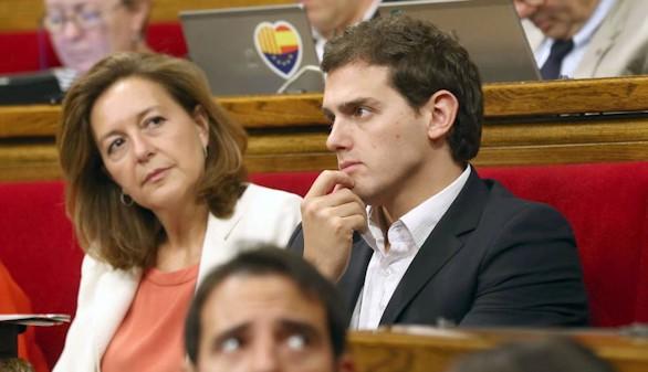 Carina Mejías (C's) denuncia a Oriol Pujol por amenazas