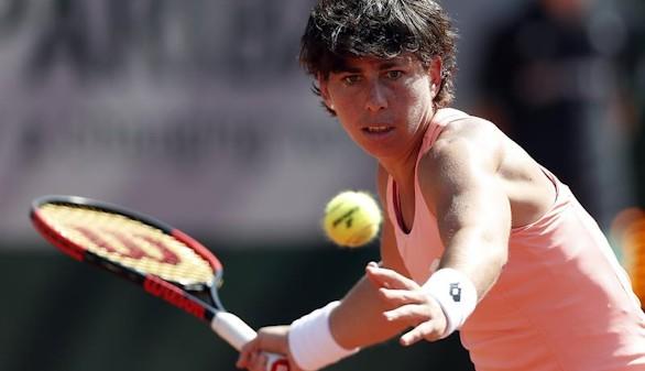 Roland Garros. Carla Suárez cae ante Halep