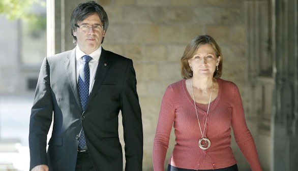 Forcadell pide al Parlamento catalán que no se 'autocensure'