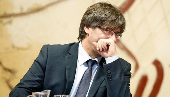Puigdemont llevará a Cataluña