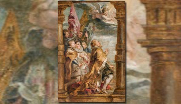 Un boceto al óleo de Rubens que se creía perdido, expuesto en Madrid