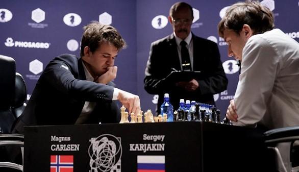 Magnus Carlsen retiene la corona mundial de ajedrez tras derrotar a Karjakin