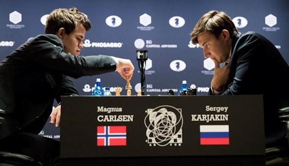 Carlsen y Karjakin se jugarán la corona mundial en el desempate