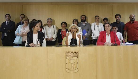 Primera crisis para Carmena: la oposición en pleno exige la dimisión del concejal antisemita