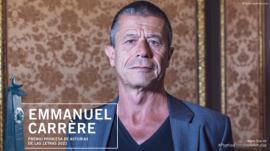 Emmanuel Carrère, premio Princesa de Asturias de las Letras