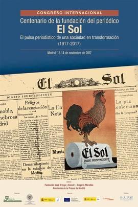La FOM conmemora el centenario del periódico El Sol con un Congreso internacional