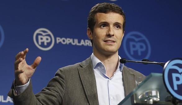 Casado espera que 'no haga falta' tener que suspender la autonomía en Cataluña