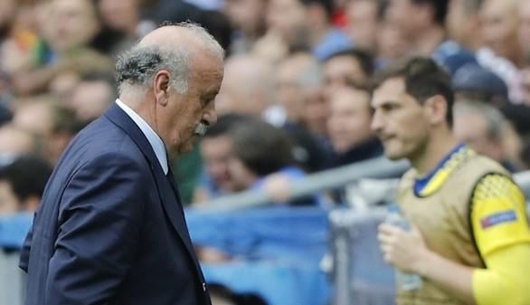 Del Bosque señala a Casillas en su despedida de la selección