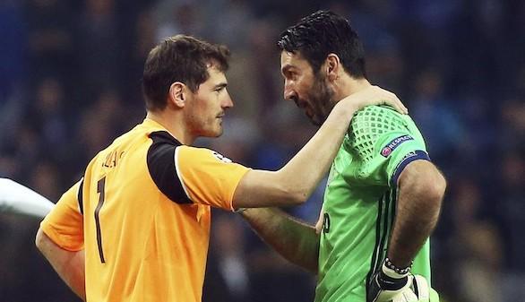 Champions. Iker Casillas supera a Xavi e iguala a Giggs