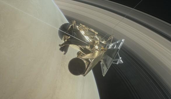 La misión Cassini cuenta las horas para sumergirse en la atmósfera de Saturno