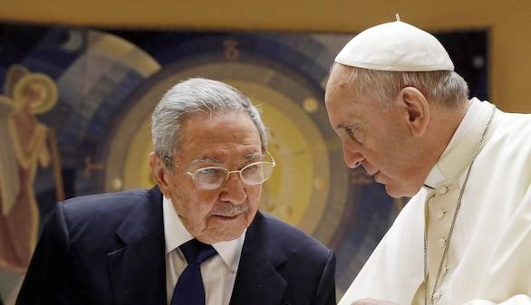 Castro agradece la mediación del Papa en el acercamiento a EEUU