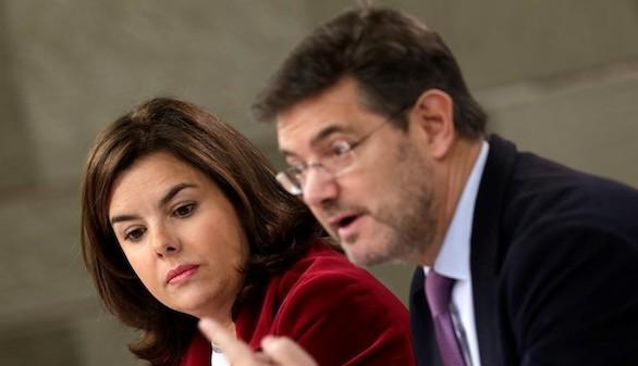 El Gobierno pide al TC que suspenda la Conselleria de Exteriores