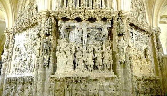 El trasaltar de catedral de Burgos será restaurado tras siglos con problemas