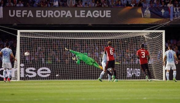 Liga Europa. El United toma ventaja pero el Celta sigue vivo |0-1