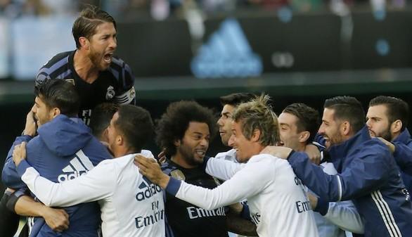 Paso de gigante del Real Madrid en Balaídos para ganar la Liga   1-4