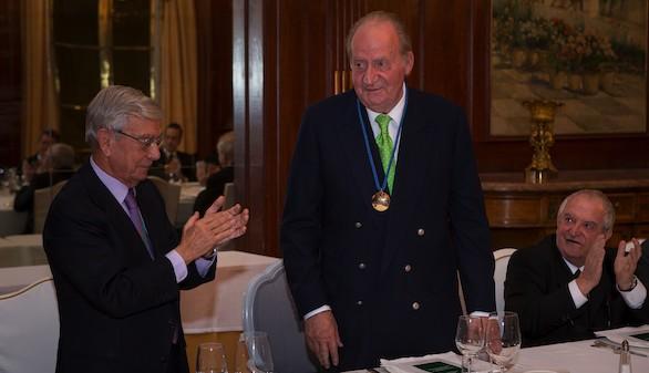 Homenaje de la Real Academia de Gastronomía a Don Juan Carlos