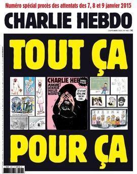 Charlie Hebdo lo vuelve a hacer: publica en portada las caricaturas de Mahoma