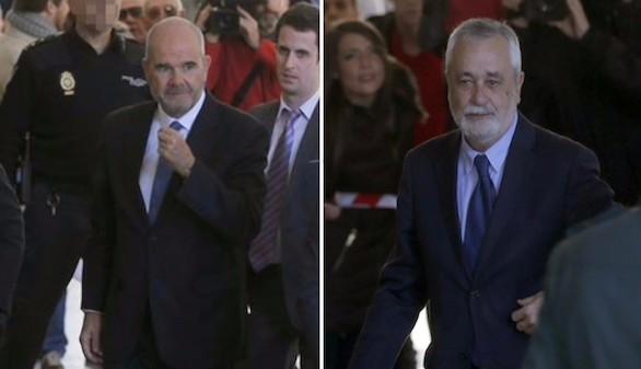 Chaves y Griñán, imputados en la pieza política de los ERE