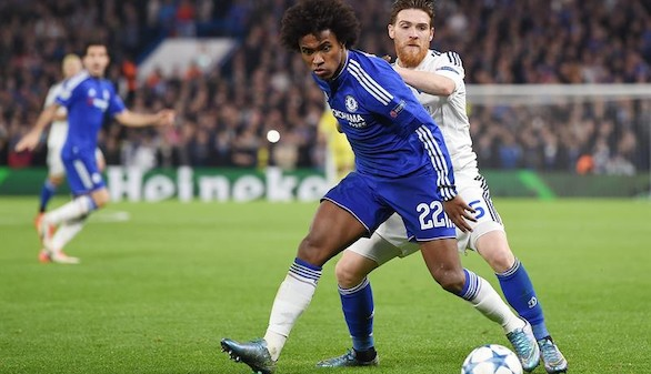 William salva al Chelsea y Mourinho su primer 'match ball'