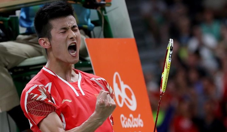 Chen Long logra el tercer oro consecutivo para China en el torneo masculino