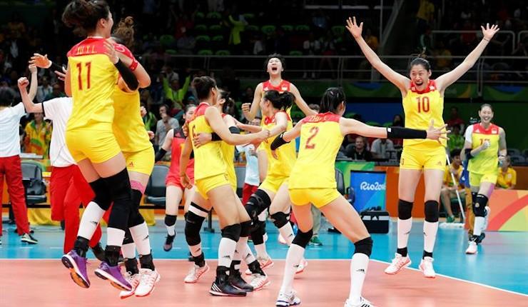 China vence a Serbia y conquista el tercer oro olímpico de su historia