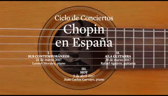La huella de Chopin en España: ciclo de conciertos en la Juan March