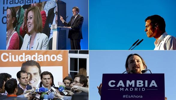 Todos los líderes se vuelcan en el final de campaña ante las elecciones más reñidas de la democracia