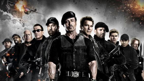 Imagen promocional de la película de Sylvester Stallone: 'Los Mercenarios 2'.
