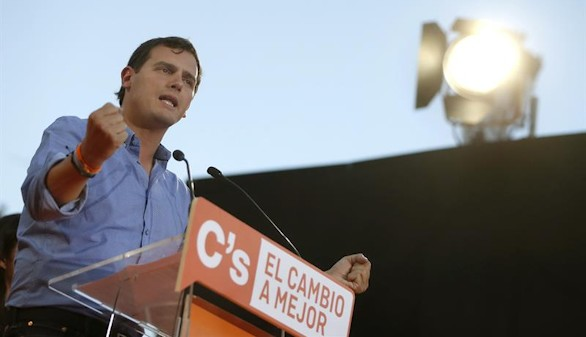 Rivera: está 'en juego' si España toma el camino 'correcto'