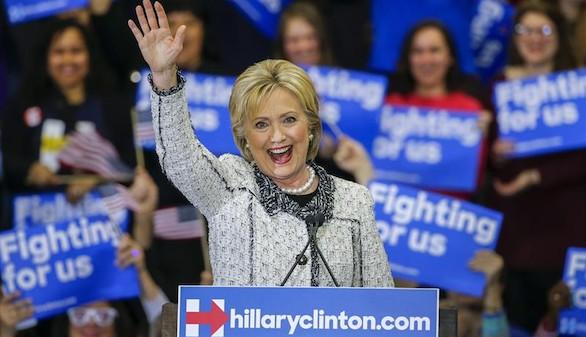 Clinton toma impulso con su victoria en Carolina del Sur
