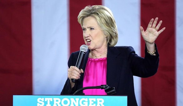 Clinton: 'Trump está totalmente incapacitado para ser presidente'